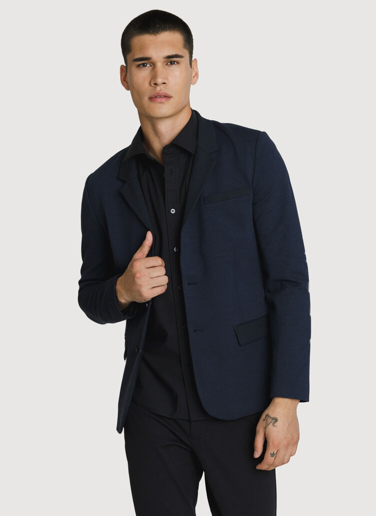 Full Speed Blazer, HTHR DK NAVY/DK NAVY | Kit and Ace