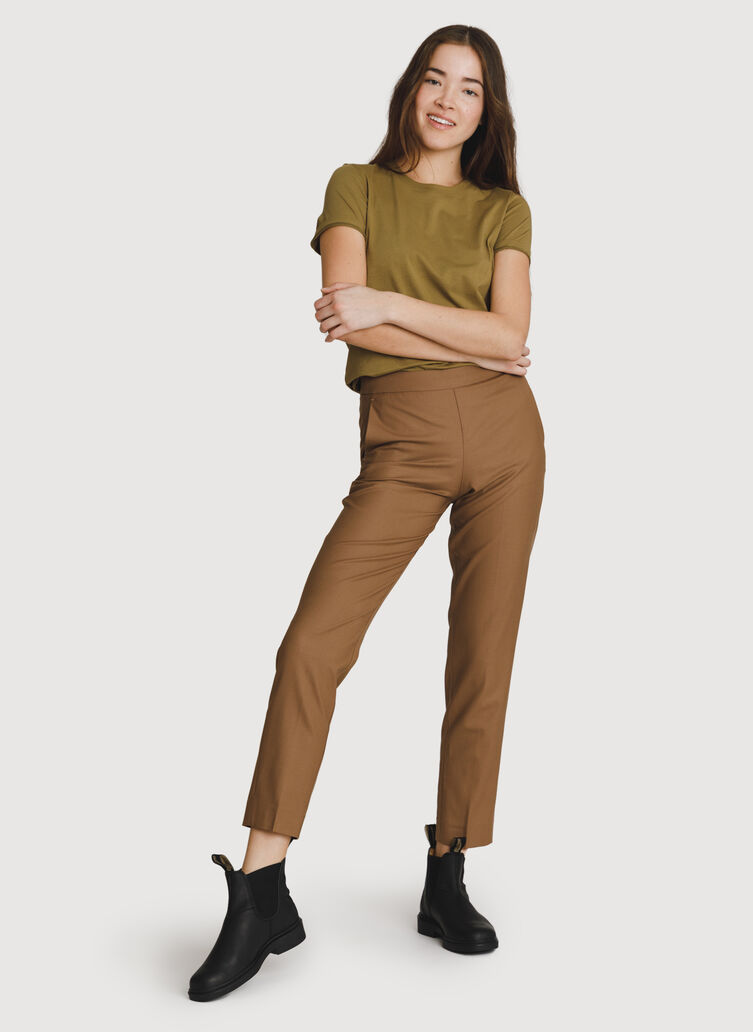 Go To Trouser 2.0, Caramel   Kit and Ace