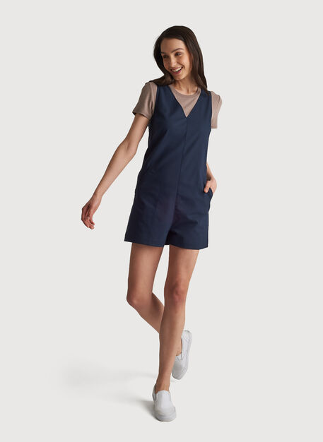 Navigator Move Romper, DK Navy | Kit and Ace