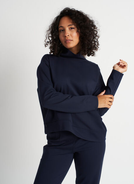 Serenity Pullover, Dark Navy | Kit and Ace