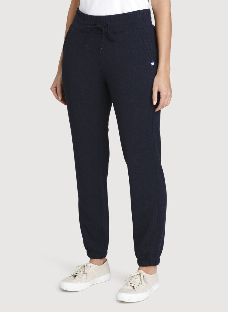 Pleasant Pants, Heather Dark Navy | Kit and Ace