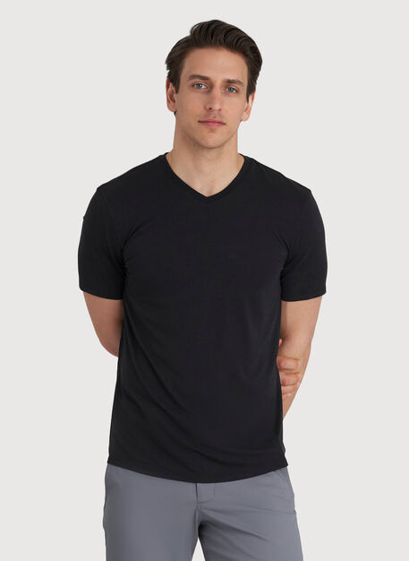 Ace V Tee, BLACK | Kit and Ace