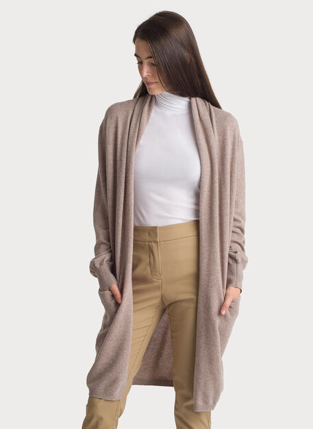 Sunsetter Cardigan, HTHR Warm Taupe | Kit and Ace